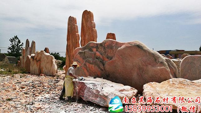 大型景观石厂家H164