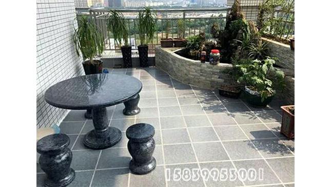 户外石桌石凳